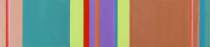 08.Hloa ¬ Quattrocento, 2007, akril na platnu / acrylic on canvas, 45 x 200 cm